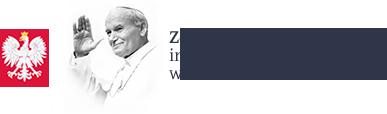 logo Zespółu Szkół Powiatowych im. Papieża Jana Pawła II w Czerwinie